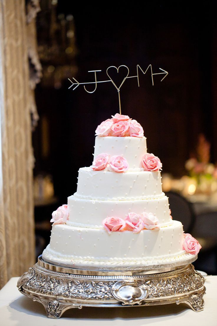 wedding cakes northern new jersey%0A Fall in Love with Pink at this Intimate Manor Wedding