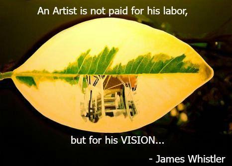 #JamesWhistler #LostLeaf #ArtQuote #Quote #Art #Paintings #IndianArt
