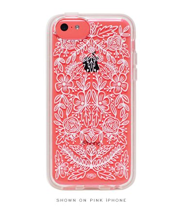 Clear Lace iPhone 5c Case