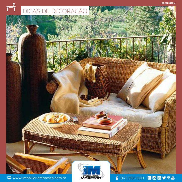 O terraço ou varanda de uma casa pode ser o lugar perfeito para apreciar confortavelmente um bom livro ou até mesmo para esquecer problemas do dia a dia. Crie no seu terraço ou varanda uma atmosfera única de relax e prazer.