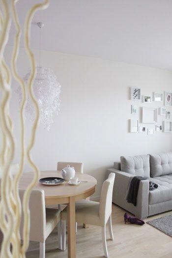 Design, home, living room, 4ma Projekt, projektowanie wnętrz, architekt wnętrz, salon, jadalnia - http://4ma-projekt.pl