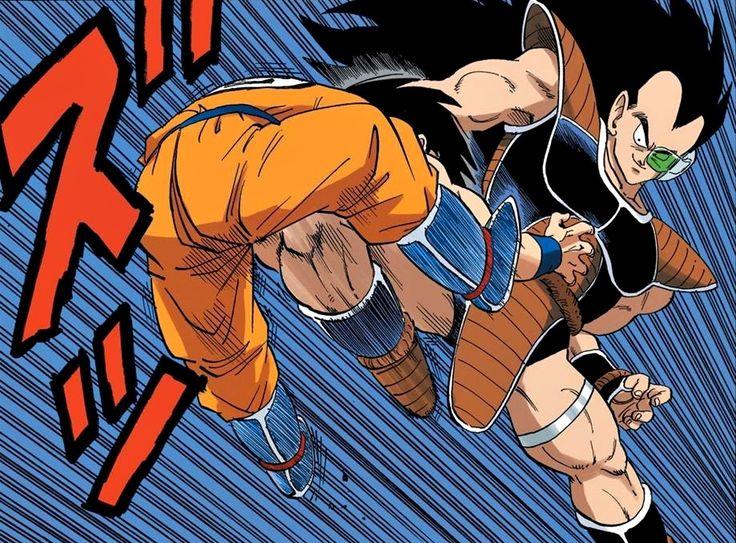 Goku vs Raditz