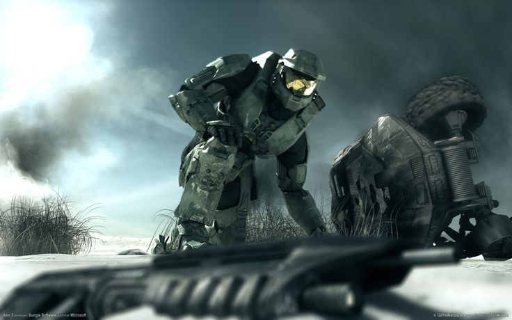 General 1920x1200 Halo video games Halo 2 Spartans Master Chief