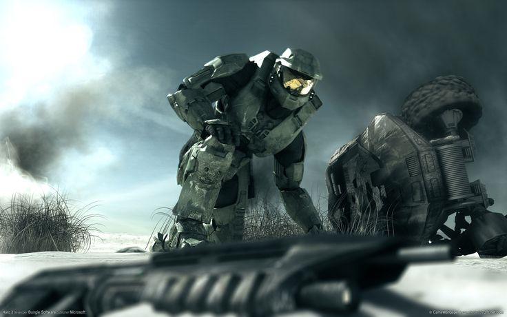 General 1920x1200 Halo video games Halo 2 Spartans Master Chief