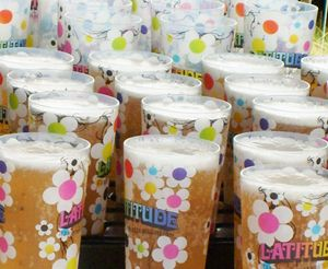 Latitude Festival in Suffolk produced reusable cups with a small deposit to reduce event waste and also created an income stream as many people kept their cups as a souvenir. #shareapositiveimpact