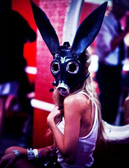 creepy i love gas masks