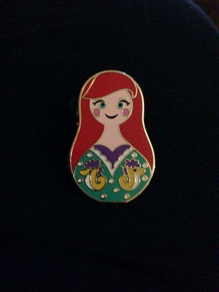Ariel - nesting doll series