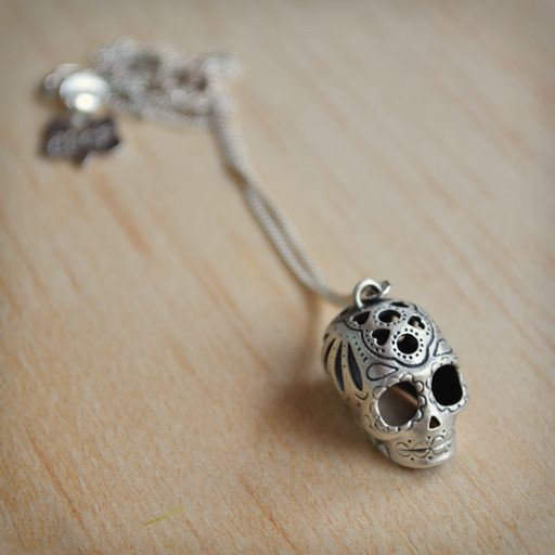 Sugar Skull Necklace <3
