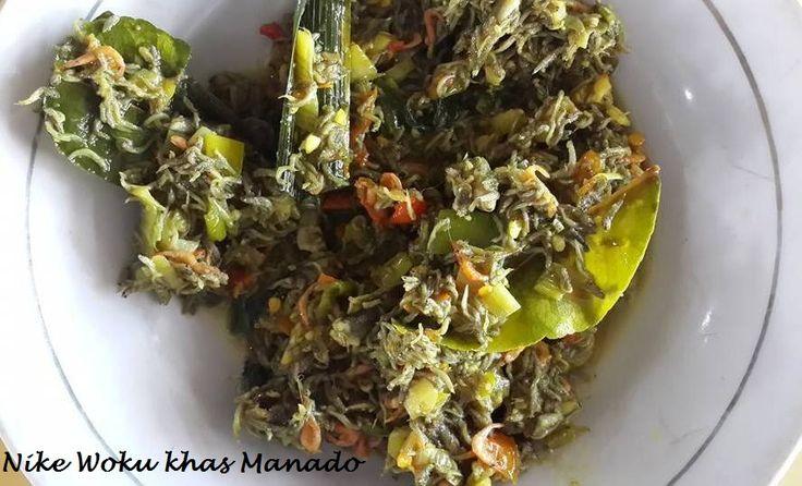 IKAN NIKE MASAK WOKU BELANGA khas MANADO  ikan nike (sejenis teri) dimasak dengan bumbu woku khas Manado. Yuk simak resepnya http://aneka-resep-masakan-online.blogspot.co.id/2015/11/resep-nike-woku.html