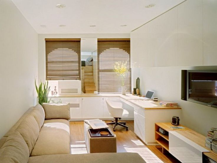 Comfortable Furniture For Small Tv Room Part - 15: Living Room : Blinds Curtain Sectional Modern Sofa Led Television Tv  Cabinet Hard Wood Flooring Ceiling Lamps Find The Right Solution For Your  Small Living ...