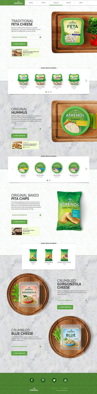 Athenos by Jen Lu, via Behance | #webdesign #it #web #design #layout #userinterface #website #webdesign