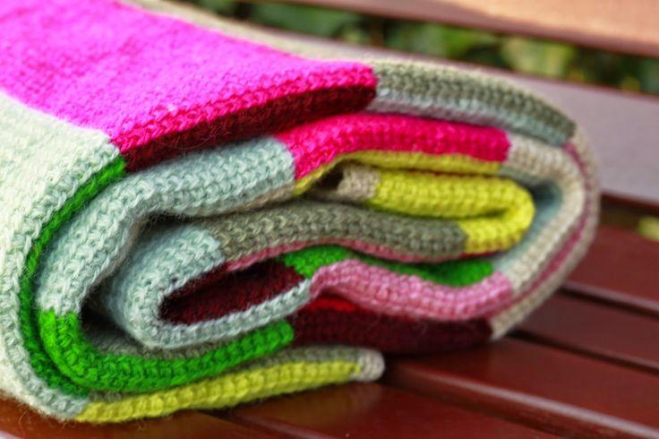 YARNFREAK: DIY: Hakket tæppe