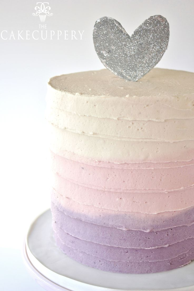 Watercolour Buttercream Cake By The Cake Cuppery Special