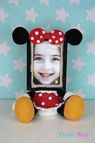 Ravelry: Photo Frame Minnie Mouse pattern by Tatiana Kucherovska