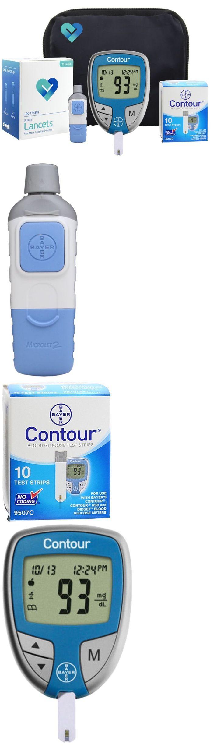 Monitoring Kits: Diabetes Test Kit Tester Diabetic Test Strips Blood Sugar Glucose Meter Machine -> BUY IT NOW ONLY: $36.08 on eBay!
