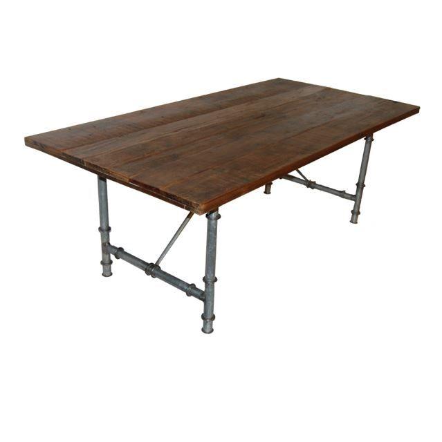 Vintage bord med rørstel
