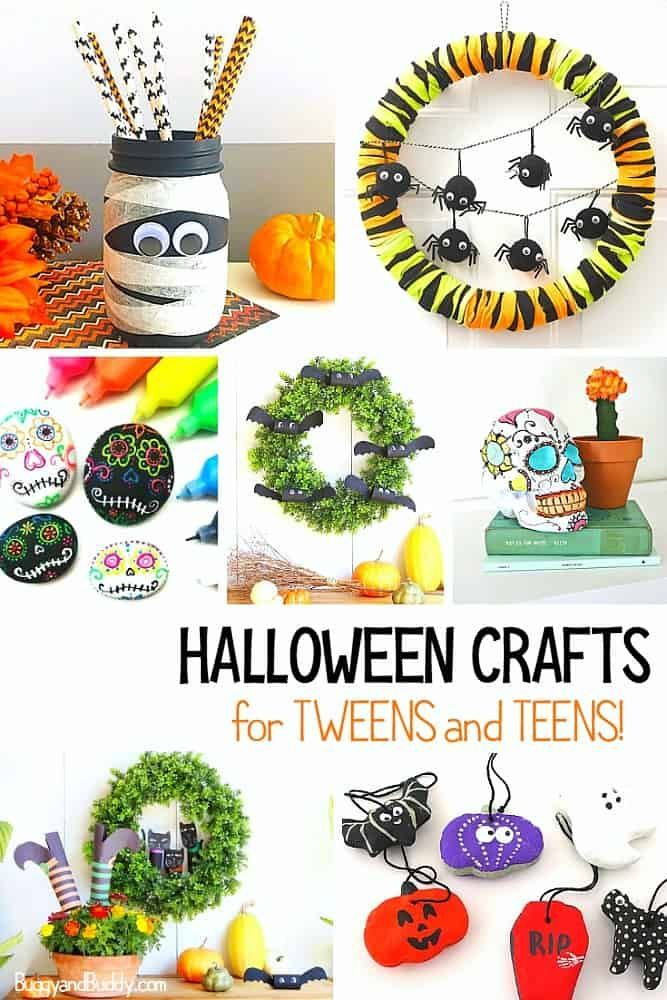 30 Halloween Crafts For Tweens And Teens Halloween Crafts For