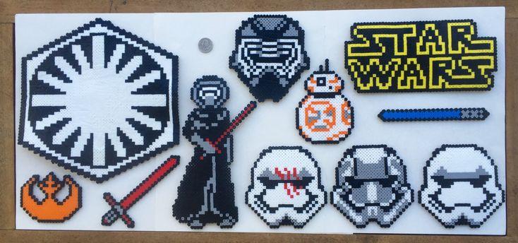 Star Wars The Force Awakens Perler Bead Patterns by 3PiCOFandomCraft