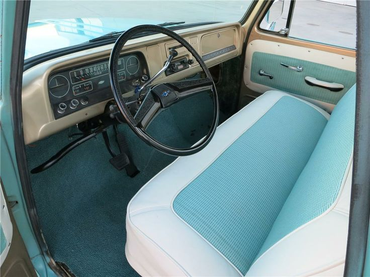 1963 chevy truck interior classic chevrolet gmc truck - Chevy truck interior accessories ...
