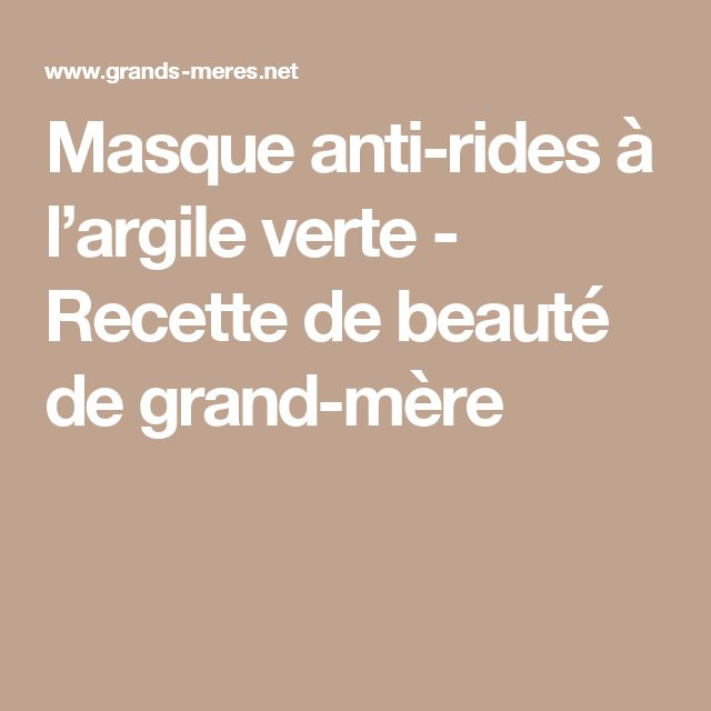 17 best ideas about masque anti ride on pinterest cr me for Anti rides maison