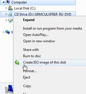 Create ISO from CD, DVD on Mac & Windows