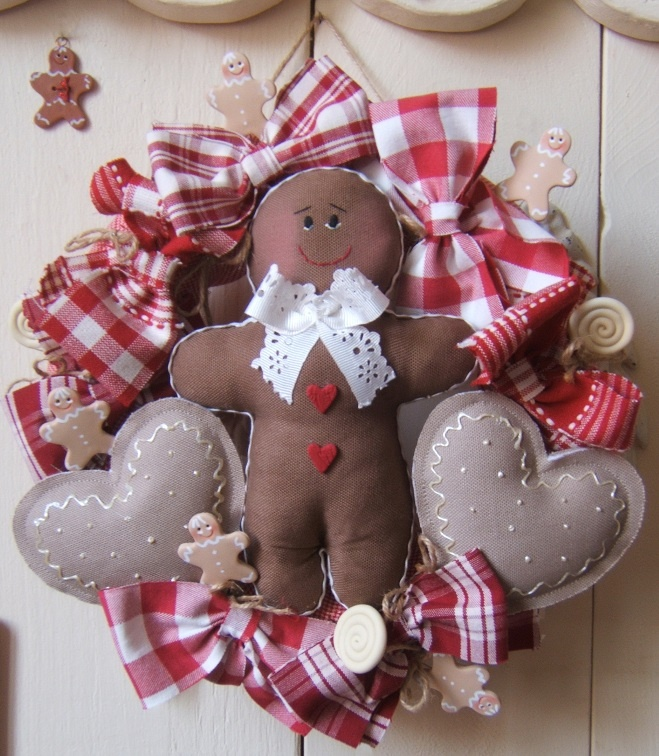 I love gingerbread at Christmas. I want this on every door of my kitchen cabinets!