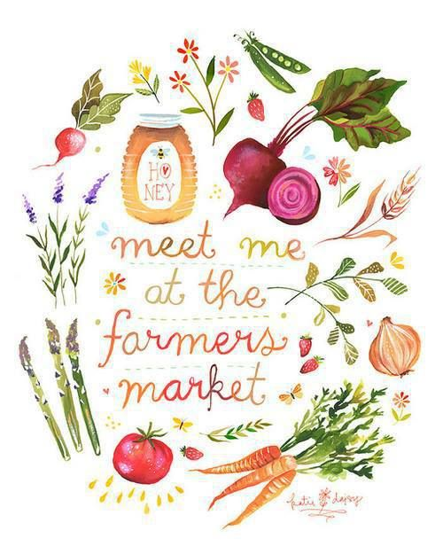 Meet me at the farmers market!