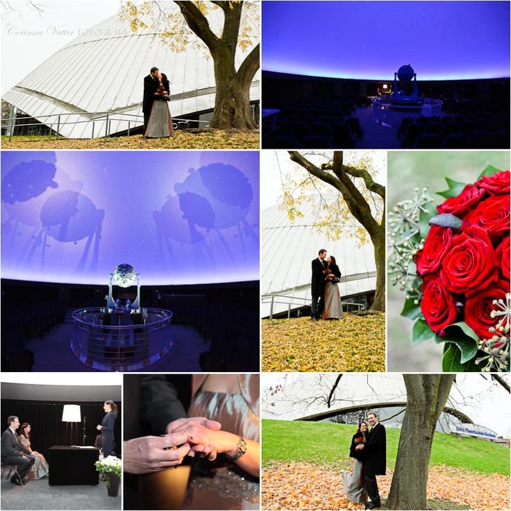 Hochzeitsfotos aus dem Planetarium Bochum | Zeiss Planetarium Bochum Germany
