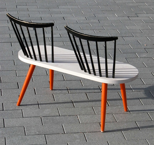 Asku & Isko by Simo Heikkilä Playing with the names of two Finnish furniture companies Asko and Isku