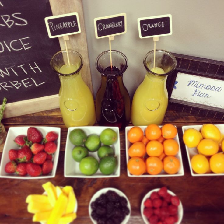 17 Best Images About Mimosa Bar On Pinterest Masons