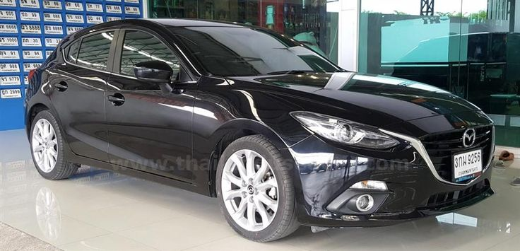 ขายรถเก๋ง MAZDA 3 มาสด้า รถปี2014 สีดำ รหัสประกาศ 6791
