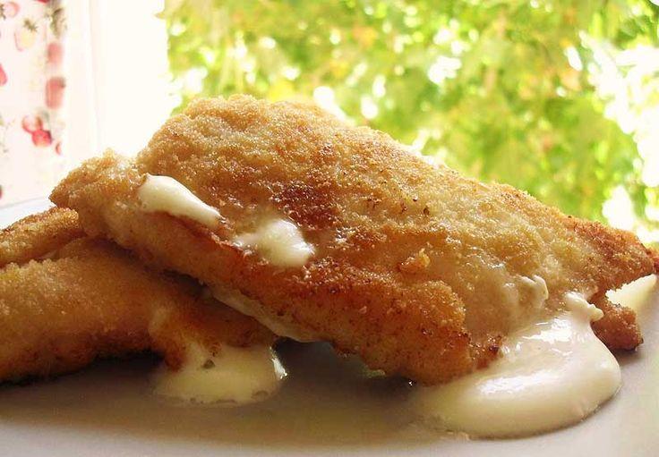 Receta de Libritos de pollo con queso de dificultad Muy fácil para 6 personas lista en 30 minutos.