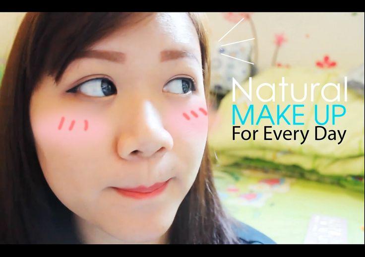 Tutorial Natural Makeup  - Ep.1