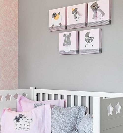 Mejores 45 im genes de en rosa habitaciones de beb en - Habitacion infantil rosa ...
