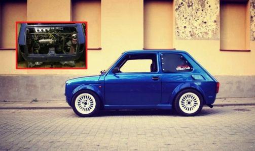 Fiat 126p VTEC Turbo: divoký Maluch je dělo z krabičky od sirek