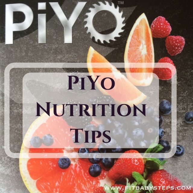 PiYo Nutrition Tips - this is hands down the best nutrition plan that I've tried