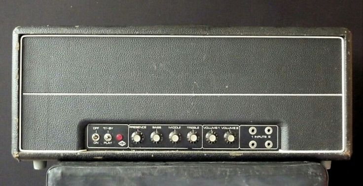 "1971 STRAMP 2100 ""MOUNTAIN"" Proto-type! PLEXI ""Superbass"" 1959 circuit w/Strüven mods! 100 watts of SEIMENS-TELEFUNKEN EL34 power! Two bridgeable channels w/presence pot.. This specific pre factory STRAMP was used by LESLIE WEST-MOUNTAIN on their ""Flowers of Evil"" tour & is for sale on Reverb. Big Caps.. All point to point w/huge SEIMENS Transformers. Hand built by PETER STRÜVEN in Hamburg Germany.. In mid 1970s.. RORY GALLAGHER, JOHN ENTWHISTLE & JACK BRUCE also used STRAMP 2100a as well."