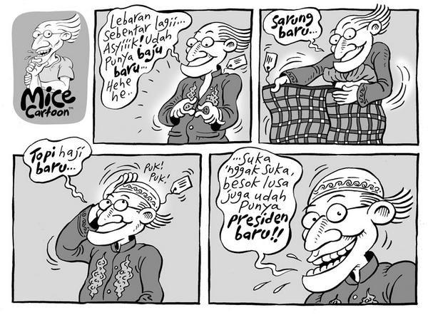 Mice Cartoon, Kompas 20.07.2014: Lebaran Sebentar Lagi...