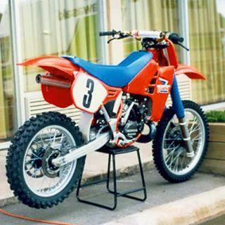 Johnny O´mara works Honda RC 250 | Dirtbikes | Pinterest ...