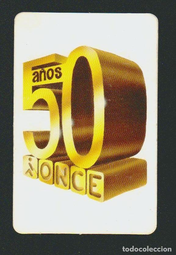 Calendario de bolsillo.ONCE.ño 1988