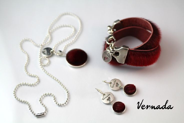Vernada Design, deLux -korusetti, punainen