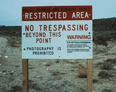 Go to Area 51 (or as close as I can get) (Nevada)