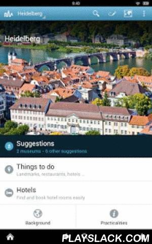 Heidelberg Guide By Triposo  Android App - playslack.com , Features of Triposo's guide to Heidelberg:★ Suggestions of what's interesting to see and do in Heidelberg, depending on time, weather and your location;★ A detailed sights section with all the monuments of Heidelberg;★ Eating out section with the best restaurants in Heidelberg;★ Discover the nightlife of Heidelberg! Bars, pubs & disco's in Heidelberg;★ Book hotels in Heidelberg directly from the app (when online);★ Mini guides…
