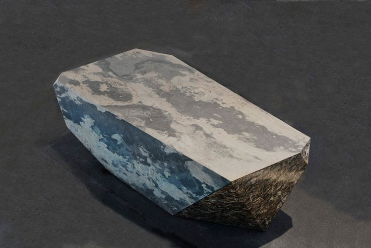 Gunjan Gupta, Rock Table Side   2013 Limited edition of n.8, Core in MDF, slate veneer and mother of pearl, W 116,84 x D 58,42 x H 40,64 cm, Country of Realization - India #gunjangupta #rock #table #tableside #limitededition #core #MDF #slateveneer #motherofpearl #madeinindia #indiandesigner #india #erastudioapartmentgallery #erastudio #gallery #design #interiordesign #milan #italy