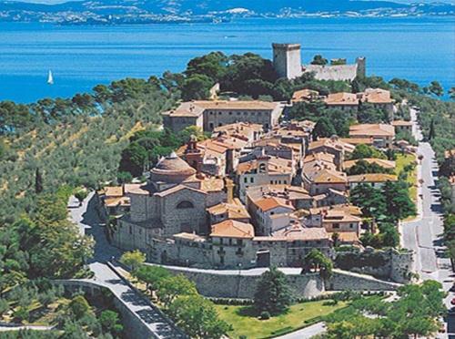 Castiglione del Lago, a small province in Perugia