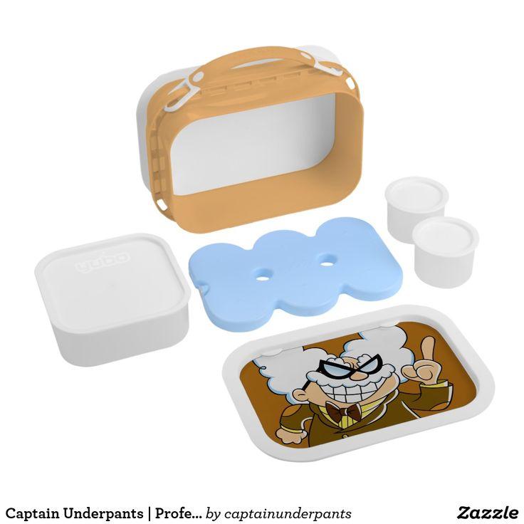 Captain Underpants   Professor Poopypants. Producto disponible en tienda Zazzle. Product available in Zazzle store. Regalos, Gifts. #lonchera #LunchBox