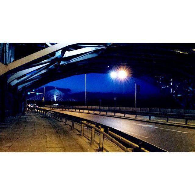 #Warszawa#nocą#most#droga#warsaw#night#bridge#architecture #landscape #view #love#good#archilovers #photoshoot #instagood#Poland#lubiepolske