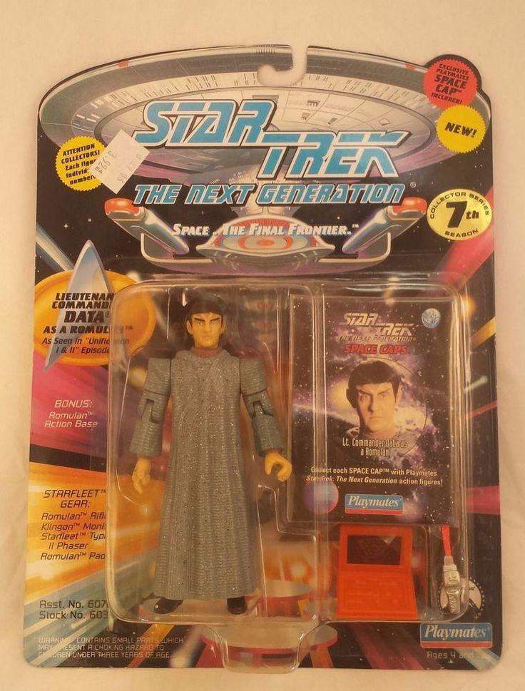Star Trek Next Generation 7 Action Figures opened and unopened 1994 HTF Rare