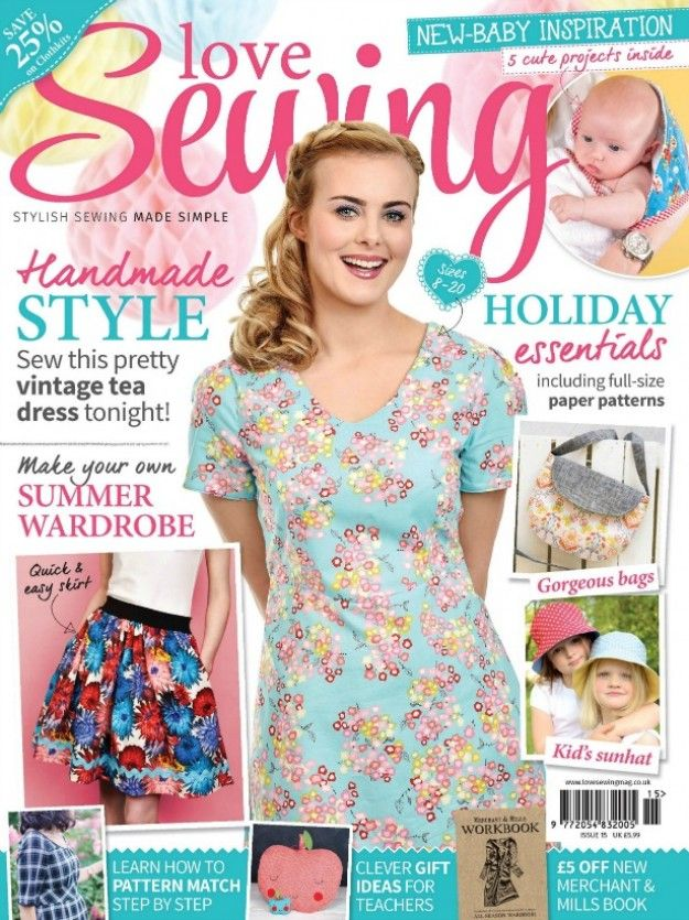Best 427 sewing magazines ideas on Pinterest | Sewing magazines ...