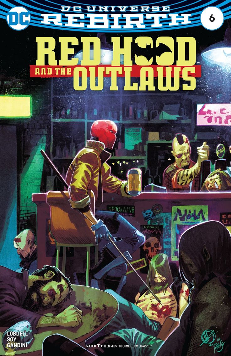 Red Hood and the Outlaws (2016) Issue #6 - Read Red Hood and the Outlaws (2016) Issue #6 comic online in high quality